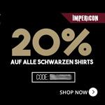 Black Metal Friday bei Impericon – 20% Rabatt auf alle schwarzen Shirts