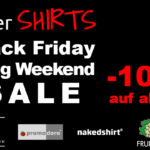 Black Friday Long Weekend SALE bei interSHIRTS mit 10% Rabatt auf alles!