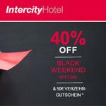 Spare 40% auf deine Buchung im IntercityHotel und erhalte einen 50 EURO Verzehrgutschein* on top