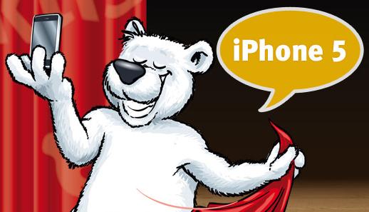 iPhone 5 Zubehör in der arktis lounge