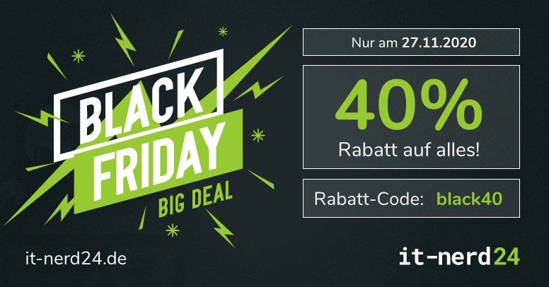 IT-Nerd24 Black Friday 2020