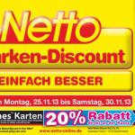 Thumbnail image for 20% auf 25 Euro iTunes Karten bei Netto und Penny