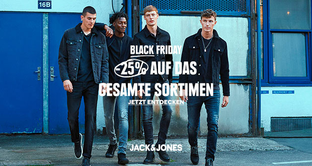 Jack & Jones Black Friday 2018