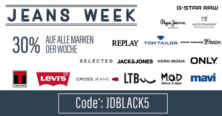 Jeans Direct Black Friday 2019