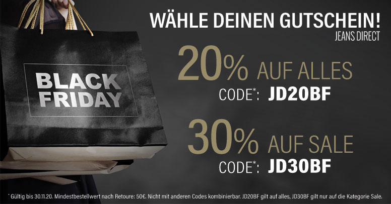 Jeans Direct Black Friday 2020