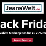 Großer Black Friday Jeans Sale mit bis zu 70% Rabatt auf Jeanswelt.de