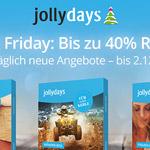 Black Friday bei Jollydays – bis zu -40% auf Erlebnisgeschenkboxen und -20% auf die Topseller-Erlebnisse