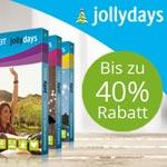 Bis zu 40% Rabatt auf tolle Erlebnisgeschenke bei Jollydays!