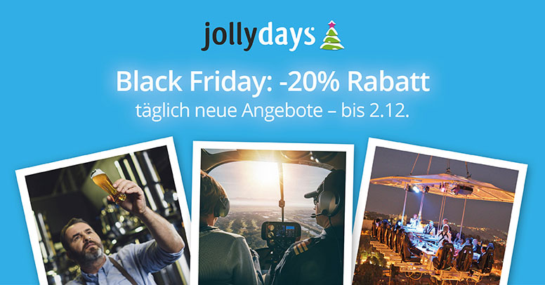 jollydays Black Friday 2019