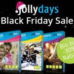 Nur solange der Vorrat reicht – Spare jetzt bis zu 30% auf tolle Erlebnisse von jollydays!