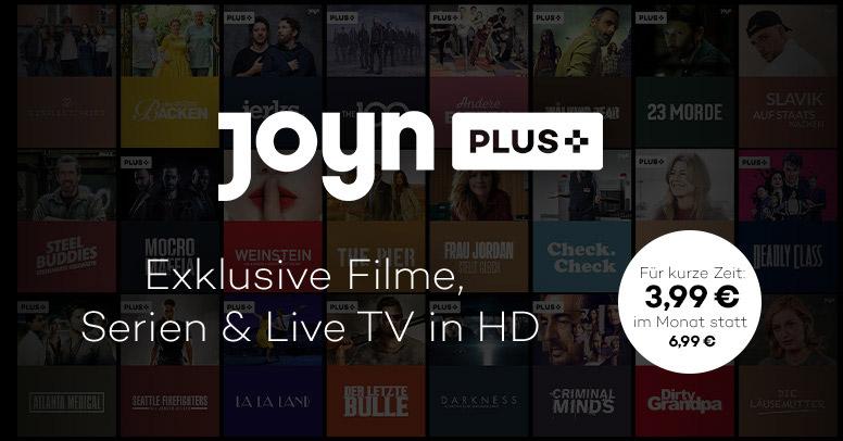 Joyn Plus Black Friday 2019