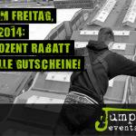 15% Rabatt auf alle Bungee Jumping Gutscheine von Jumper Events!