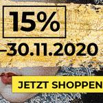 Sicher dir 15% auf ALLES beim BLACK WEEKEND auf kare.de