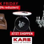 Nur heute bis zu 60% Rabatt auf viele Artikel rund ums Wohnen im Online-Shop von Kare!