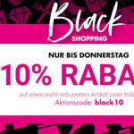 Black Shopping bei Karstadt mit unglaublichen Angeboten im Onlineshop und in den Filialen
