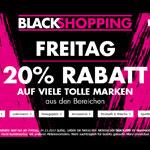 Black Shopping Freitag bei Karstadt, 20% Rabatt auf viele tolle Marken!