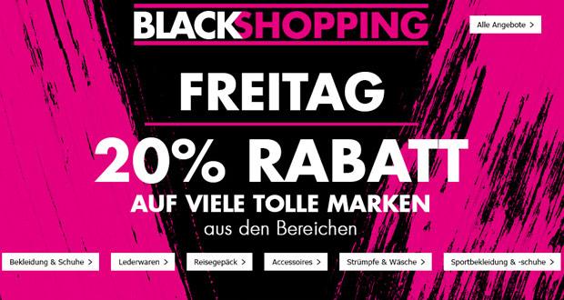Karstadt Black Shopping Freitag 2017