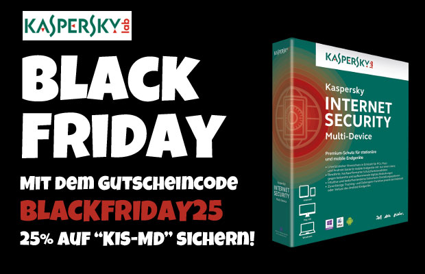 25 auf kaspersky internet security multi device black. Black Bedroom Furniture Sets. Home Design Ideas