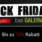 Schnäppchenjäger aufgepasst: Fette Rabatte von bis zu 72% bei Galeria Kaufhof!