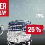 Galeria Kaufhof feiert den Cyber Monday mit 25% Rabatt auf stilvolle Schmuckmarken!