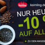 10% für deinen Einkauf im Shop von Keimling