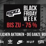 Black Week bei Kickz – Sicher dir bis zu 75% Rabatt auf Adidas NMDs, K1X Boots und Nike Sneaker!