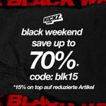 BLACKWEEKEND bei KICKZ – 15% auf die komplette bereits reduzierte Ware