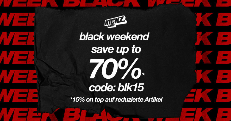Kickz.com Black Weekend 2020