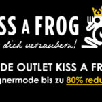 DesignerFriday bei KISSaFROG – Spare bis zu 80% auf internationale Top Marken