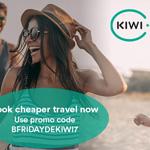 Spare 7 EURO auf deine nächste Reise mit kiwi.com