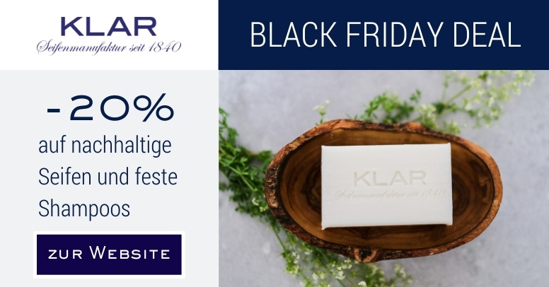 Klar Seifen Black Friday 2020