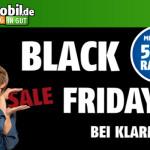 Zwei Hammer Tarife beim klarmobil-Black-Weekend – Spare mindestens 50%