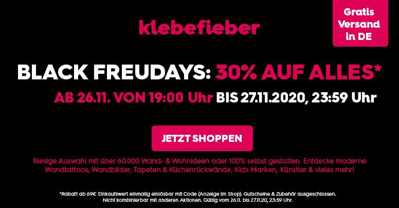 Klebefieber Black Friday 2020
