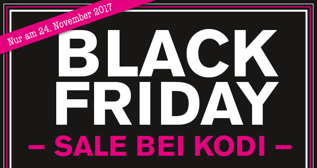 KODi Black Friday 2017