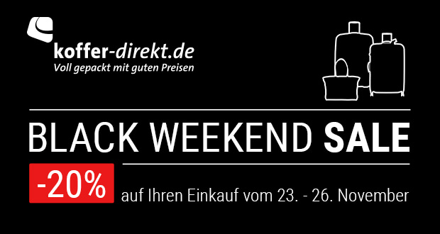Koffer-Direkt.de Black Friday 2018