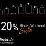 Großer Black Weekend Sale – 20% Rabatt auf das gesamte Sortiment von koffer-direkt.de!