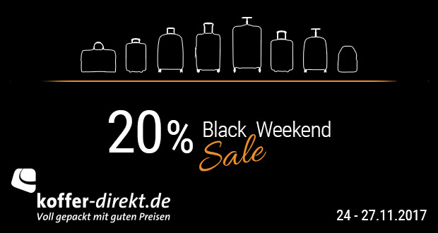 koffer-direkt.de Black Friday 2017