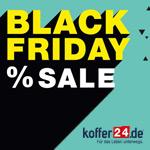 Black Friday bei koffer24 – Top Marken zu Top Preisen – Bis zu 50% Rabatt