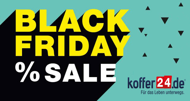 Koffer24 Black Friday 2018