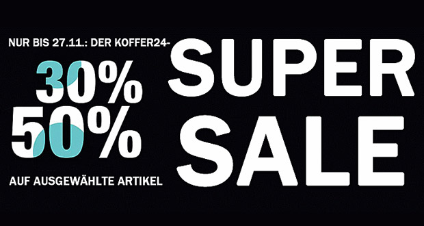 koffer24 Super Sale 2017