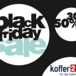Sicher dir jetzt die Gutscheine zum Black Friday von Koffer24 und spare bis zu 70%