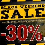 Black Weekend Sale bei Koffermarkt – 30% Rabatt auf alle B&W Outdoor Cases!