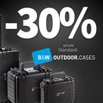 Black Week Sale auf Koffermarkt.com – Spare 30% auf alle Standard B&W Outdoor Cases