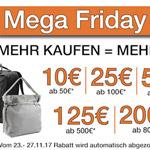 Jetzt zugreifen, bis zu 200 Euro Ersparnis beim Mega Friday Deal von Kofferworld sind möglich!