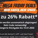 Mega Friday Delas bei Kofferworld – Spare jetzt bis zu 26% auf deine neuen Koffer