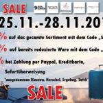 Spare jetzt bis zu 25% beim Kauf neuer Koffer im Online-Shop von Kofferworld