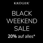 Feier das Black Weekend mit Krüger-Dirndl und sicher dir 20% Rabatt auf alle Artikel*