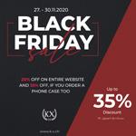Black Friday und Cyber Monday bei KX – spare bis zu 35% auf Alles!