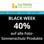 Spare jetzt 40% auf deine Bestellung individueller Foto-Gardinen bei La Melle