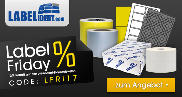 Labelident.com Black Friday 2017
